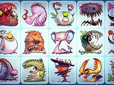 Monster Characters #monster #characters