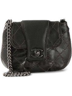 08b2cff2dc713b Quilted Shoulder Bags, Chanel Shoulder Bag, Black Leather Handbags, Vintage  Chanel, Black