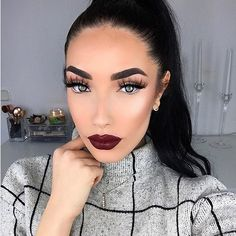"""SLEIGH! Check out this doll ✨@khindahawari✨ wearing our """"HOMEGIRL"""" lashes! Absolutely love how they look on her! Gorgeous! Hurry & order your lashes today to get them in time! Free shipping on all US orders! SHOP: www.luxy-lash.com Clickthe link in our bio now!"""