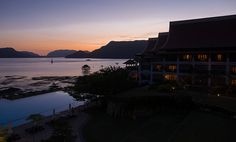 Westin Langkawi sunset - http://malaysiamegatravel.com/westin-langkawi-sunset/