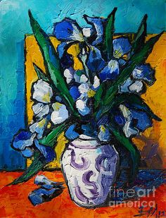 Oil painting by Mona Edulescu