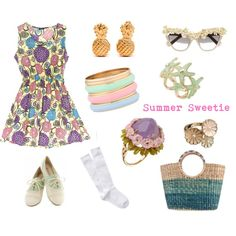 Summer Sweetie, created by shopbaitfootwear on Polyvore