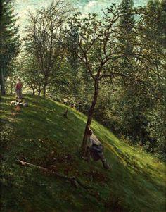 Francisco Oller (Puerto Rican, 1833–1917) French Landscape, Circa 1895–96. Colección Instituto de Cultura Puertorriqueña, San Juan, Puerto Rico    Brooklyn Museum