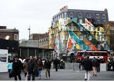 Kofieone painting on the whole building
