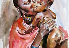 Beautiful Babies, Landscape, Painting, Food, Art, Art Background, Scenery, Painting Art, Essen