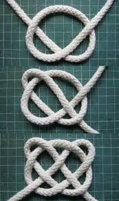 İlgili resim Macrame Tutorial, Bracelet Tutorial, Macrame Jewelry, Fabric Jewelry, Celtic Knot Tutorial, Couture Cuir, Celtic Heart Knot, Decorative Knots, Knot Pillow