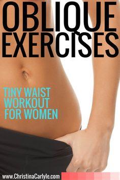 workouts for women - oblique exercises