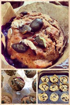 PeknePapaj: Celozrnné raňajkové muffiny bez cukru a predsa energia v hrsti
