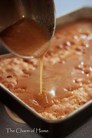 Caramel Apple Cake: Perfect for fall apple season! I think I'll make it just like Paula Dean's recipe though.