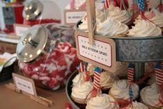 American Boy Birthday Party