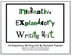 1000 images about informative explanatory text in writing for Itip lesson plan template