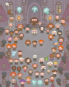 Enter at Hogwarts School of Witchcraft and Wizardry, make new friends, interact with other Potterheads, compete for the House Cup and play Minigames. Fanart Harry Potter, Harry Potter Tumblr, Harry Potter World, Magia Harry Potter, Estilo Harry Potter, Wallpaper Harry Potter, Mundo Harry Potter, Cute Harry Potter, Funny Harry Potter