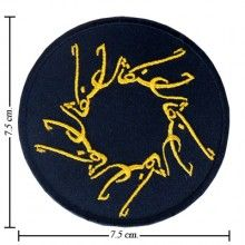 Lord Of The Rings Style-2 Embroidered Iron On Patch