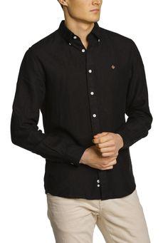 Morris Douglas shirt svart