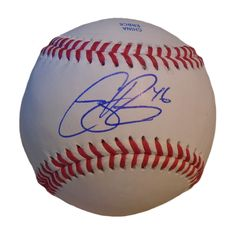 Atlanta Braves Cory Rasmus signed Rawlings ROLB leather Baseball w/ proof photo.  Proof photo of Cory signing will be included with your purchase along with a COA issued from Southwestconnection-Memorabilia, guaranteeing the item to pass authentication services from PSA/DNA or JSA. Free USPS shipping. www.AutographedwithProof.com is your one stop for autographed collectibles from Atlanta sports teams. Check back with us often, as we are always obtaining new items.