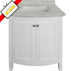 Simple yet stunning, the Sherbrooke vanity is classical in design and is suitable for use as a single vanity. The cabinet is constructed from moisture resistant MDF which provides a smooth surface for the clean white painted finish. This product has been coated with an unnoticeable water resistant sealer making it suitable for wet areas. This vanity features 2 doors and a beautiful ceramic basin.*Taps