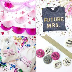 Sashes, t-shirts, tote bags and decorations, we've rounded up our favourite places to buy non-tacky hen party decor and supplies. Plum Wedding, Dream Wedding, Wedding Ideas, Bachelorette Party Decorations, Bachelorette Parties, Hen Party Games, Got Married, Party Planning, Gifts