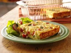 For two: garden veggie-packed egg bake.