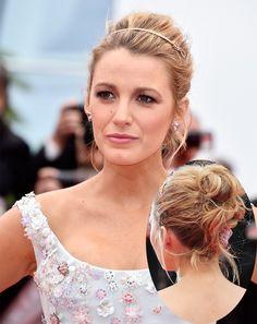 Blake lively inspires up-do wedding hairstyle