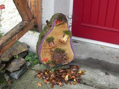 Fairy Homes, Forest Fairy, Sculptures, Home And Garden, Gardens, Houses, Heart, Woodland Fairy, Homes