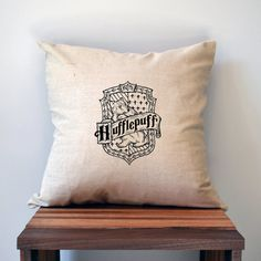 This House Crest made-to-order screen printed pillowcase will add a one of a kind touch to any Harry Potter fans space! Find the other houses and or get the full house set at a discounted price here: https://www.etsy.com/listing/239821964/harry-potter-four-house-pillow-cover-18  Pillow cover dimensions: 18x18 each  -Fill with a 18x18 pillow or 20x20 for a fuller look!  Need an insert? Check out our listing for our 18 x 18 Pillow insert at…