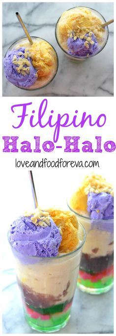 Sweet and satisfying halo-halo, a beloved traditional dessert from the Philippines, is easy to make and is sure to make your day!