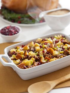 Sunny's Italian Sausage Holiday Stuffing from FoodNetwork.com