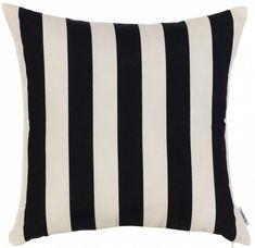 Чехол для декоративной подушки черно-белые узоры 9082010209429