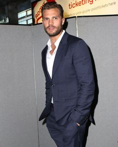 Jamie Dornan at NY Anthropoid Premiere - 4th Aug 2016