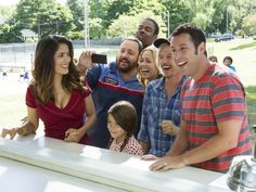 Salma Hayek, Kevin James, Chris Rock, Maya Rudolph, David Spade and Adam Sandler in Columbia Pictures' Grown Ups 2 - Movie still no 5 Movie Trivia, Movie Facts, 2 Movie, Fun Facts, Movie Info, Random Facts, Movie Photo, Movie Theater, Upcoming Movies