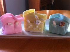 Mini Diaper Bag Cakes  on Cake Central