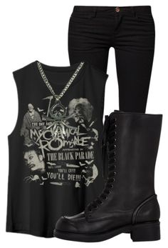 """untitled #77"" by killjoy-sam ❤ liked on Polyvore featuring ONLY and Jil Sander Navy"