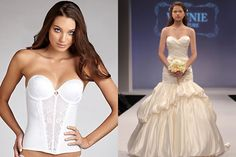 What to wear under a strapless dress