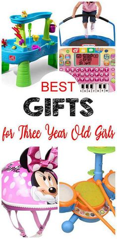 Best 3 year old girl gifts for birthdays and other occasions. Finding good gifts for a young toddler girl can hard and difficult to choose. Gifts For 3 Year Old Girls, 2 Year Old Girl, Birthday Gifts For Girls, Play Doh Fun, Preschool Board Games, Disney Princess Gifts, Popular Toys, Three Year Olds, Toddler Toys