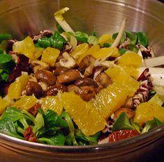 Gemischer Wintersalat mit Orangen, ein gutes Rezept aus der Kategorie Früchte. Bewertungen: 7. Durchschnitt: Ø 4,0.