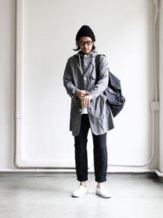 maillot Summer Wool Hooded Coat MAO-046