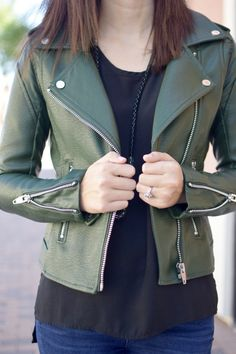Not Your Average Faux Leather Jacket