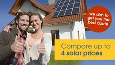 Solar panels cost:  http://www.getsolarprices.co.uk/