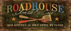 Roadhouse Print by Jo Moulton at Art.com