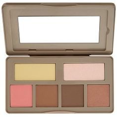 Contour, highlight, bronze and blush your way to a beautiful complexion with our Nude Rose Sculpt & Glow Palette, a variety of velvety matte and shimmer powders in a mirrored compact. The versatile collection of knockout neutrals flatters multiple skin tones and features warm and cool shades to accent features, sculpt the face, and add a healthy glow with blush and bronzer