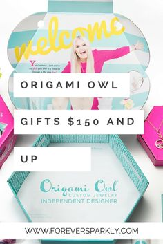 Looking to purchase the gift of Origami Owl but, don't want to spend a fortune? This list guides you through many Origami Owl gifts ideas from $25 and under to $150 and up. Click to check out this list of Origami Owl gifts for any budget! via @Kristy E. | Origami Owl | Direct Sales Blogger