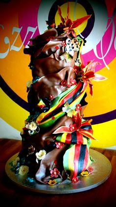 Zimbabwe meets cornwall in chocolate by Ezziecakes