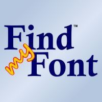 'Find my Font' is an easy to use software application that runs on your computer and identifies the fonts of a given bitmap image (photo, scan etc). It searches for fonts both on the internet and on your computer. You are given a list of exact and similar matches.