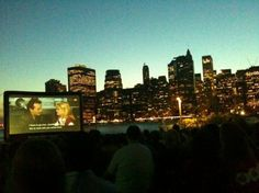"""Shake off the last of those chilly winter doldrums, boot up your Google calendar and set phasers to """"summer,"""" kids, because here's your first batch things to look forward to. The Brooklyn Bridge Park Conservancy today released its list of the eight films that will be featured in its Movies With a View program at [...]"""