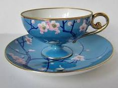 ~ Old Noritake I currently cherish my Noritake Blue Dawn collection but may have to start on these pieces - I have no idea why more people don't collect vintage china! Tea Cup Set, My Cup Of Tea, Tea Cup Saucer, Tea Sets, Antique Tea Cups, Vintage Cups, Vintage China, Teapots And Cups, Teacups