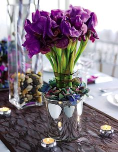 fresh flowers, if ya wanna.  good focal points and reminders to be tender, gentle, and open.  also taking nice whiffs of fresh roses can help lower blood pressure.