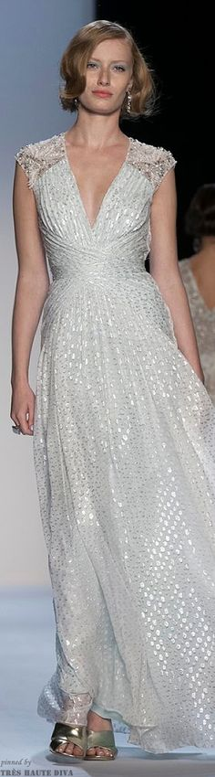 #NYFW Badgley Mischka Spring 2014 RTW ♥✤ | KeepSmiling | BeStayBeautiful