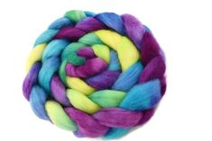 Hand Dyed Corriedale Tops in Rainbow Rainbow Shop, Felting, Spinning, Hands, Wool, Hand Spinning, Felt Baby, Felt Crafts, Indoor Cycling