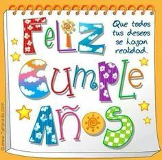Mensajes Lindos de Feliz Cumpleaños - ツ Tarjetas y Postales para Desear un Feliz Cumpleaños ツ