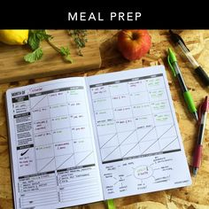 Plan your workouts & meal prep days in the monthly layout. 3 reasons why a workout log is important: 1) Seeing the big picture helps stay motivated 2) Stay consistent with your goals 3) Keep track of best personal workout record